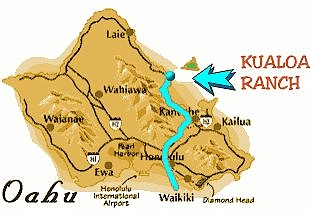 Kualoa Ranch Contact Information and Directions to the ranch on h-1 freeway map, valley of the temples map, bellows air force station map, halona blowhole map, old pali road map, oahu map, kaaawa valley map, waimea valley map, kona airport map, honolulu map, kailua map, iolani palace map, oregon convention center map, polynesian cultural center map, parker ranch map, kingdom of hawaii map, chinaman's hat map, niihau map, hawaii convention center map,